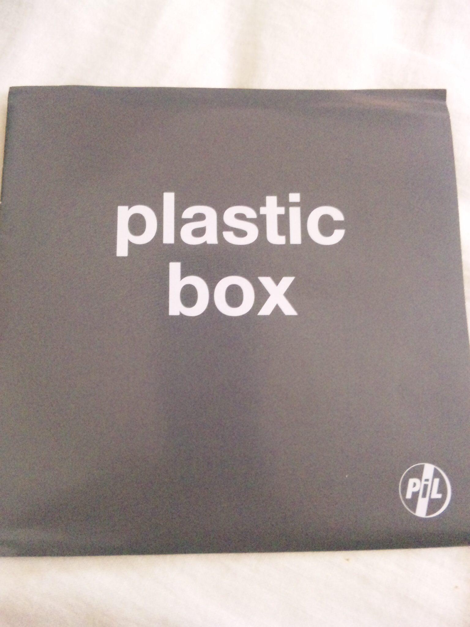 P.I.L 〜PLASTIC BOX〜