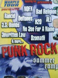 punk rock summer camp