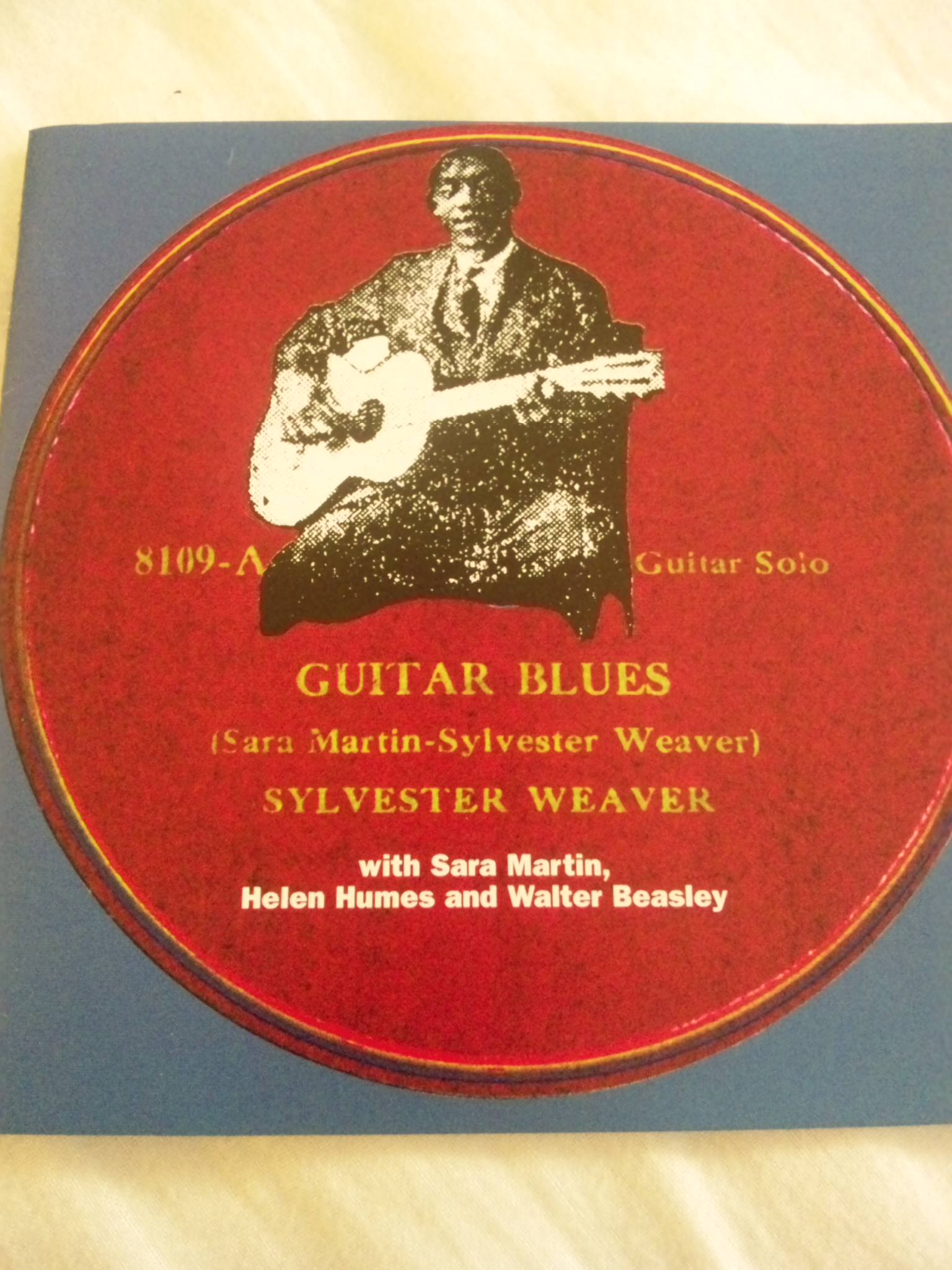 SYLVESTER WEAVER;GUITAR BLUES