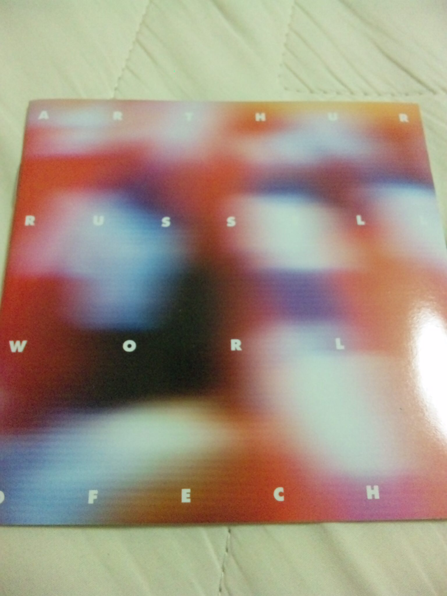 ARTHUR RUSSELL;WORLD OF ECHO