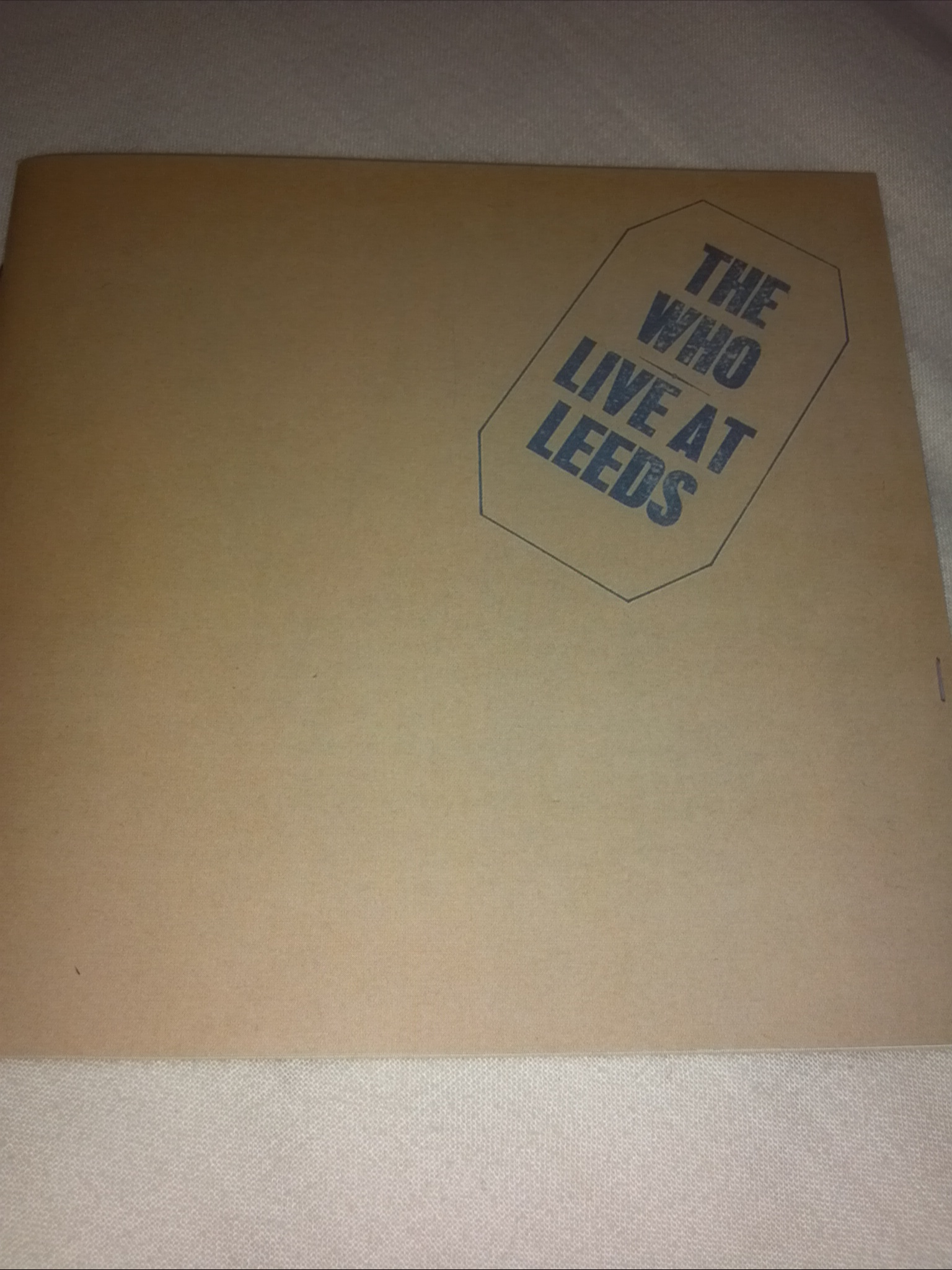 The  Who;Live  at  Leeds