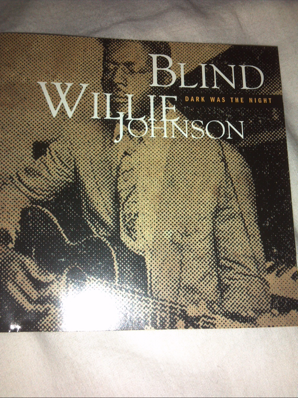 BLIND WILLIE JOHNSON;dark was the night