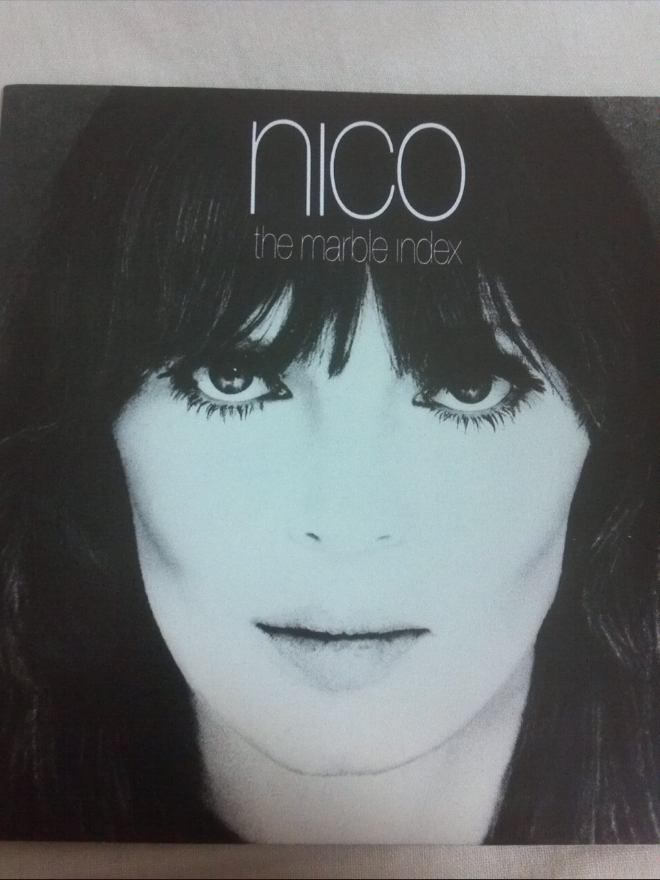 Nico ; the marble index
