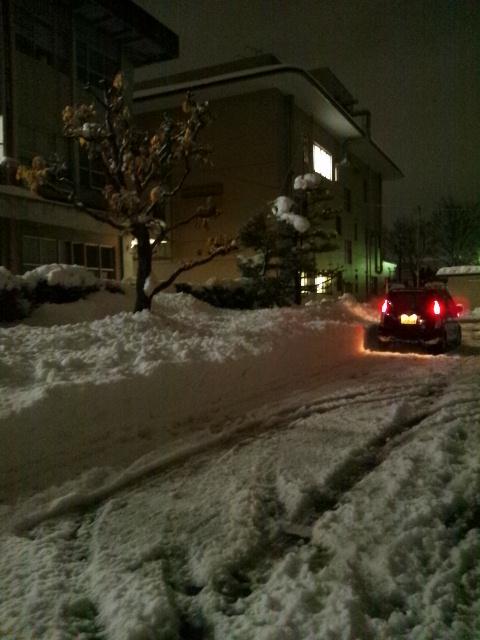 冬だね〜(>_<)