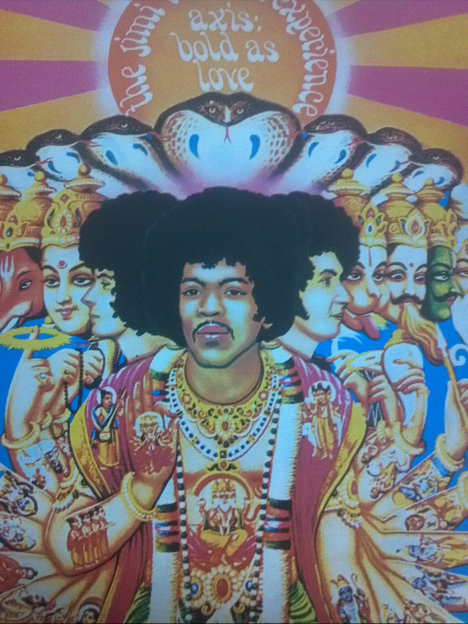 The jimi hendrix experience ;axis bold as love