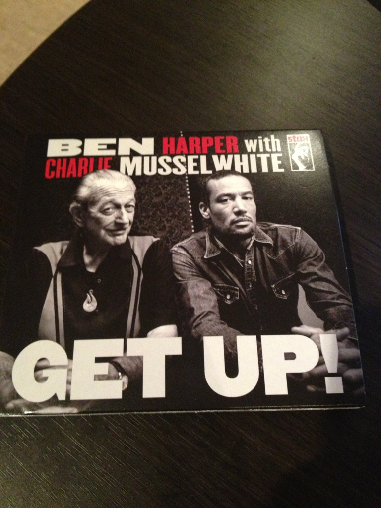 BEN HARPER with CHARLIE MUSSEL WHITE