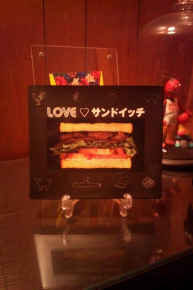 LOVE サンドイッチ