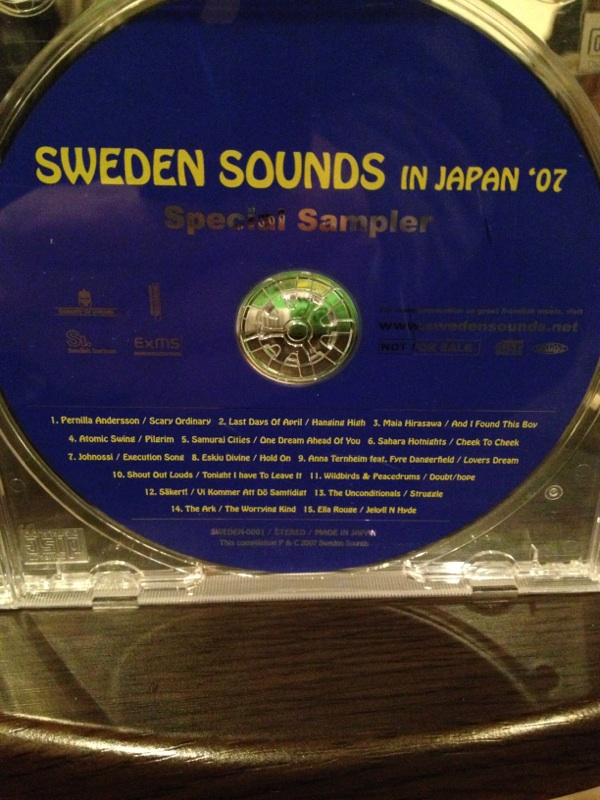 sweden sounds in japan'07