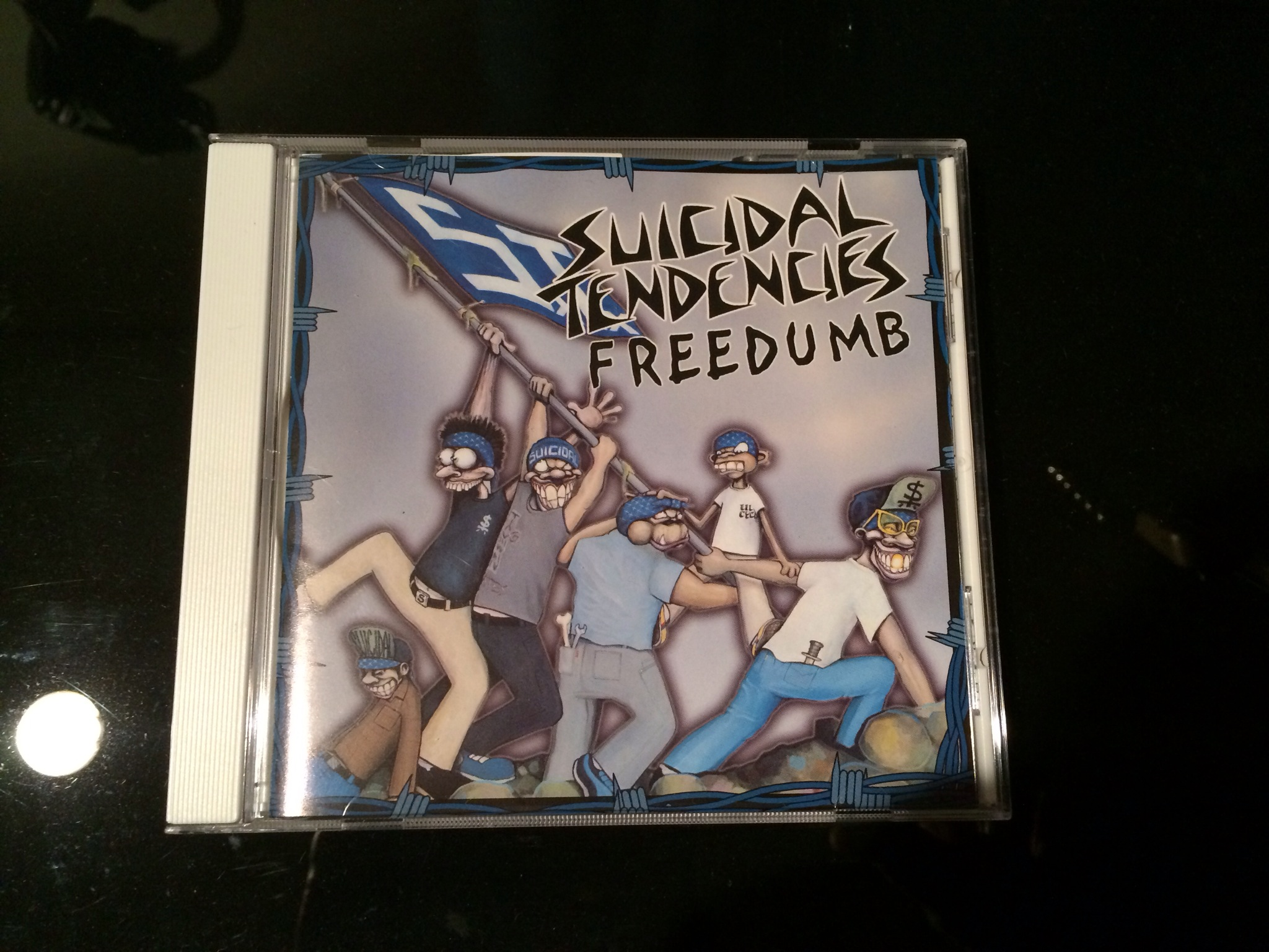 suicidal tendencies/freedumb