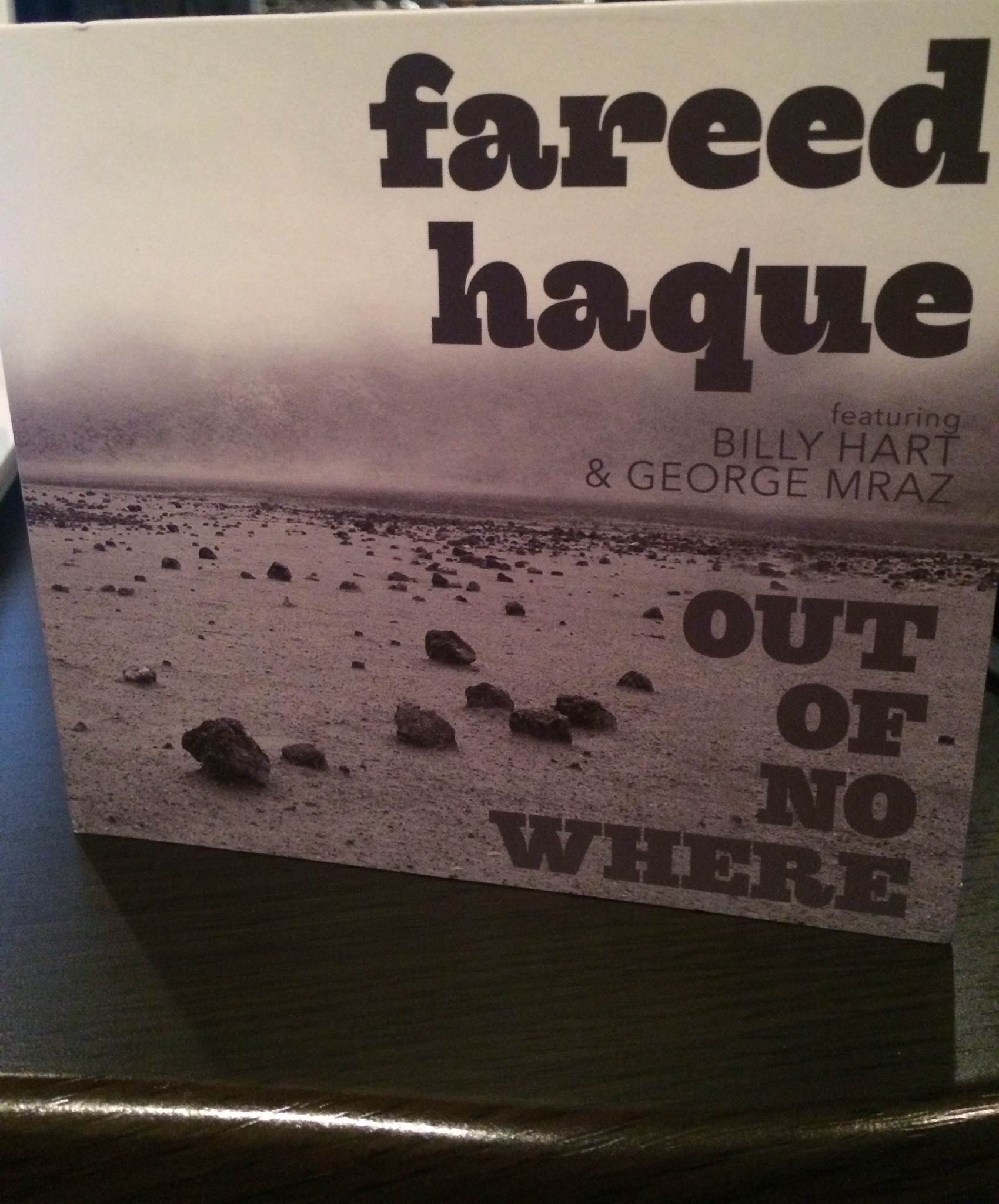 fareed hapue / out of no where