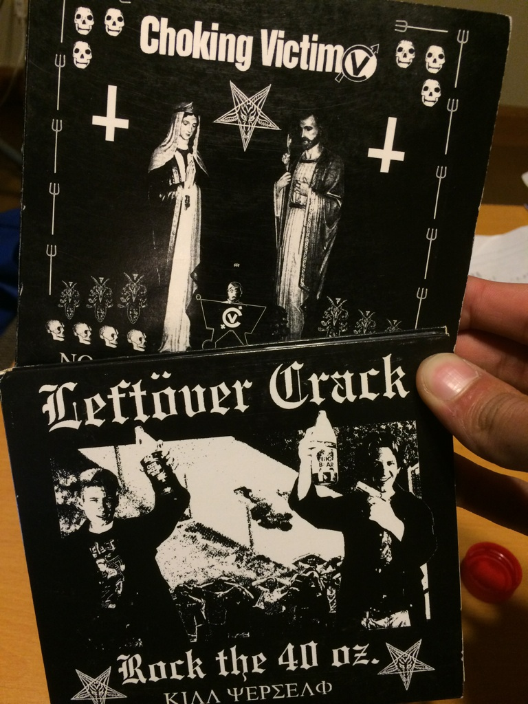 Leftover Crack (ex. Choking Victim)