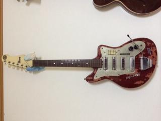 ibanezのギター